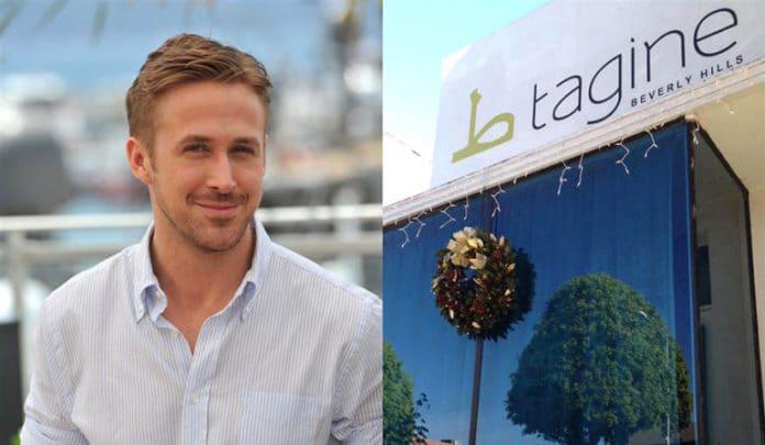 Ryan Gosling est son restaurant Tagine