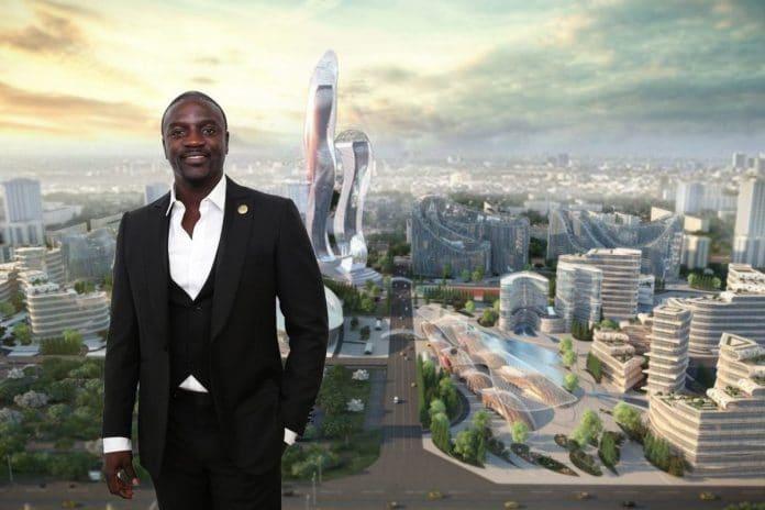 Akon City L'artiste se paye une ville au Sénégal et lui donne son nom