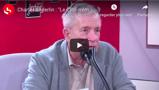 Charles Enderlin dénonce l'apartheid subi par les Arabes en Israël - VIDEO