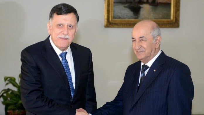 Le chef du gouvernement en Libye et le président de l'Algérie