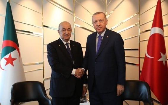 Erdogan félicite l'Algérie « un pays frère » et déclare une « convergence totale » sur la Libye