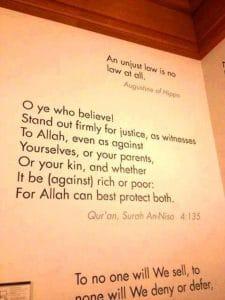 Harvard reconnaît le Coran comme l'une des meilleures expressions de la justice2