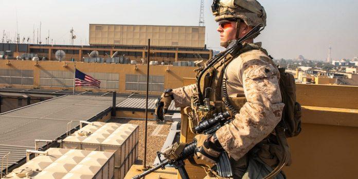 Irak - trois roquettes explosent sur l'ambassade des États-Unis