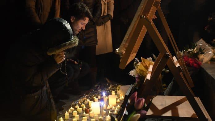 Justin Trudeau comemoration victime crash iran