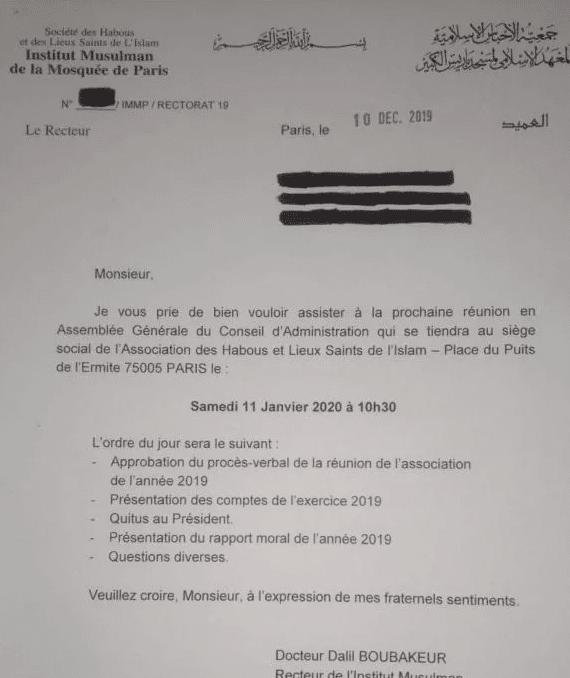 L'élection de Chems-Eddine Hafiz à la Grande Mosquée de Paris suscite l'indignation