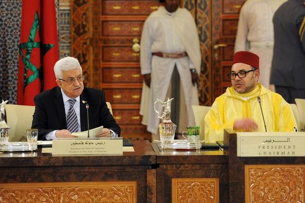 La Palestine envoie un message de remerciements au roi Mohamed VI