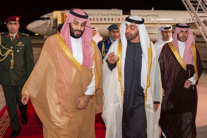 Mohammad Bin Salmad et Mohammed Bin Zayed