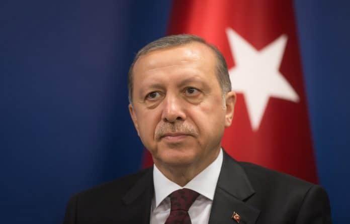 Recep tayyip Erdogan gracie deux enfants