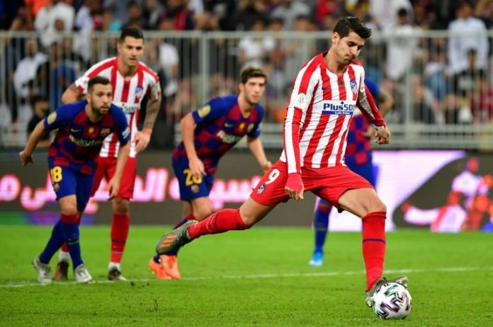 Supercoupe d'Espagne barcelone real madrid atletico