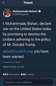 TwitterPresidentNigeria