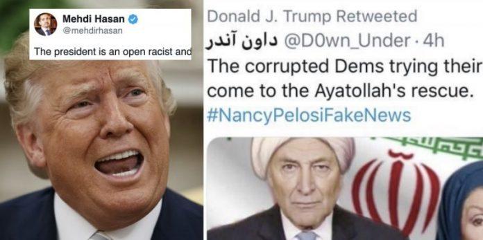 US Trump se moque des femmes en hijab2