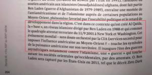 Un manuel de Sciences Po lie directement les attentats du 11 septembre à la CIA2