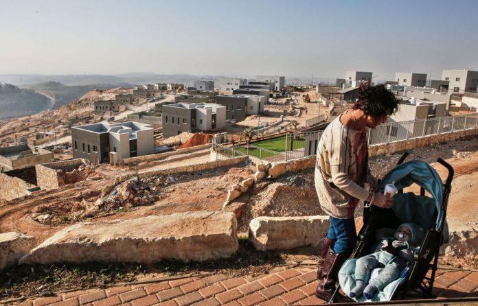 colonie juifs israel cisjordanie palestine