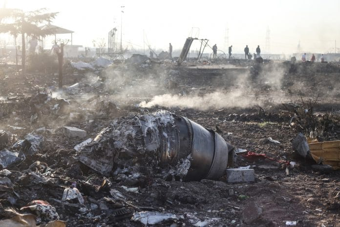 crash du boeing 737 iran téhéran ukraine