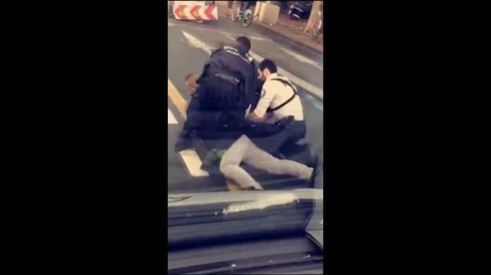 Cédric Chouviat interpellé par la police