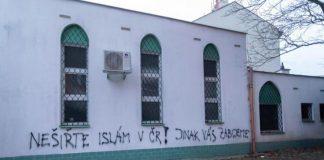 republique tcheque brno mosquee vandalisee
