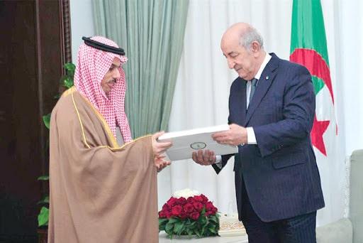Algérie - Le président Abdelmadjid Tebboune reçoit le Ministre saoudien des Affaires Etrangères