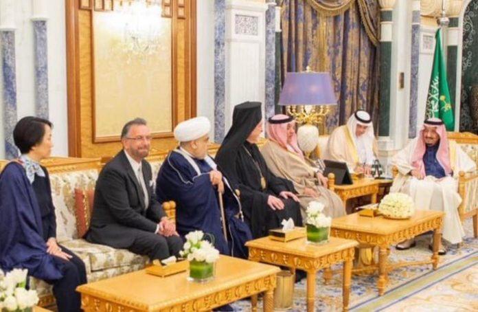 Arabie saoudite - Le roi Salman reçoit pour la première fois un rabbin israélien