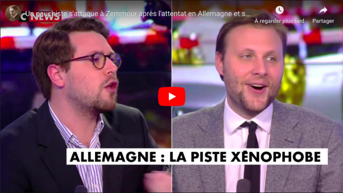 Benjamin Lucas tient pour responsables CNews et Eric Zemmour du climat de barbarie contre les musulmans - VIDEO