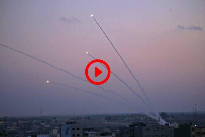 Gaza - Des tirs de roquettes visent le sud d'Israël - VIDEO (1)