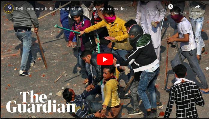 Inde des gangs nationalistes hindous chassent et tuent des Musulmans - VIDEO