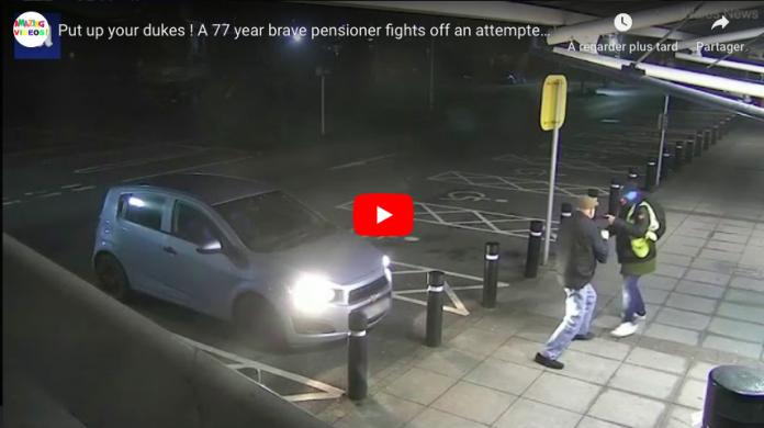 Insolite Un retraité se défend avec courage contre un voleur qui tente de l'agresser -VIDEO