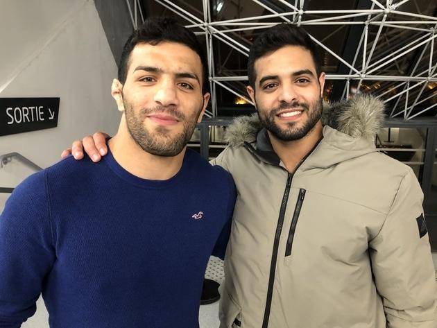 Judo Deux champions iranien et israélien posent ensemble pour la Paix