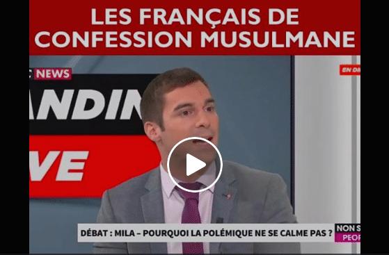 Julien Odoul Les français de confession musulmane ne font pas partie de la communauté française