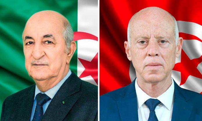 président tunisien Kais saied abdelmadijd tebboune algérie tunisie rencontre alger