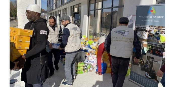 Les musulmans d'Alsace s'engagent en masse dans les actions humanitaires