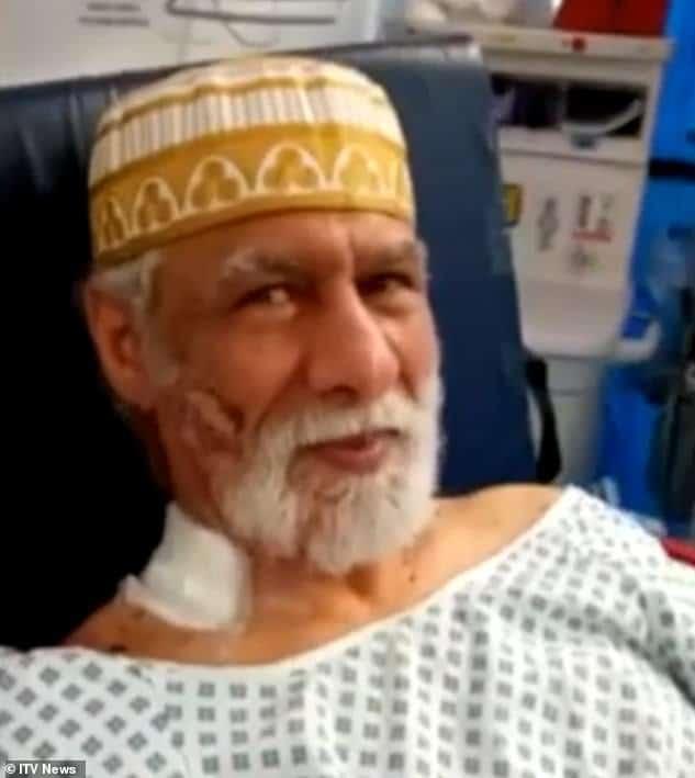 Londres - Le muezzin poignardé au cou pardonne à son agresseur - VIDEO