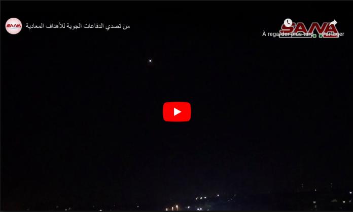 Syrie : Des missiles lancés depuis Israel attaquent Damas - VIDEO