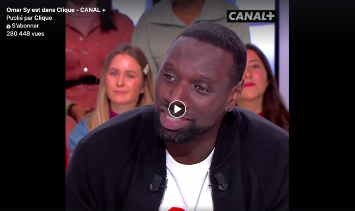 Omar Sy se dit « fier » de Mouloud Achour en direct sur Clique TV - VIDEO