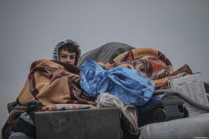 Syrie - 7 500 réfugiés palestiniens vivent en plein air dans le nord du pays