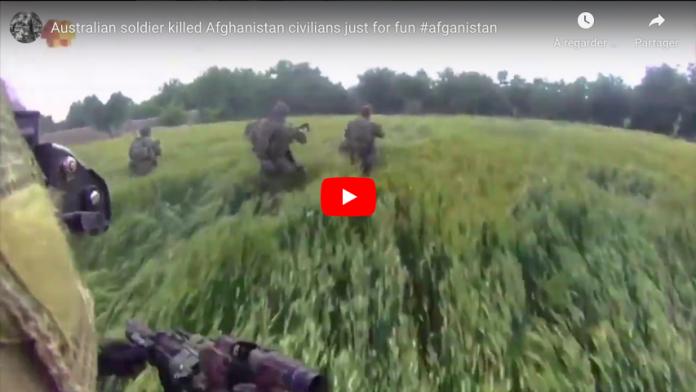 Afghanistan Un soldat australien exécute un jeune musulman à bout portant VIDEO