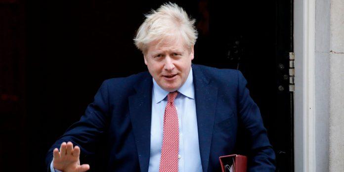 Boris Johnson en isolement après un test positif au Coronavirus Covid-19