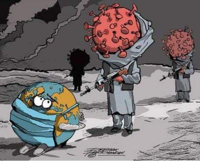 Choc - Un journal hindou publie une caricature montrant un coronavirus en tenue musulmane