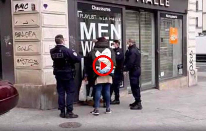 Confinement coronavirus À Paris les policiers commencent à sévir contre les contrevenants - VIDEO