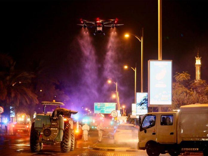 Coronavirus - Dubaï, la ville est désinfectée chaque jour par des drones - VIDEO