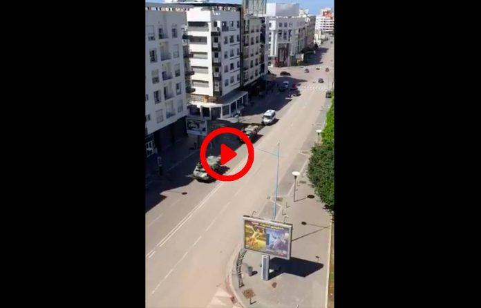 Coronavirus Le Maroc déploie des blindés de l'armée dans les ruesVIDEO