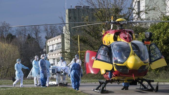 Coronavirus - l'armée intervient à l'hôpital de Mulhouse
