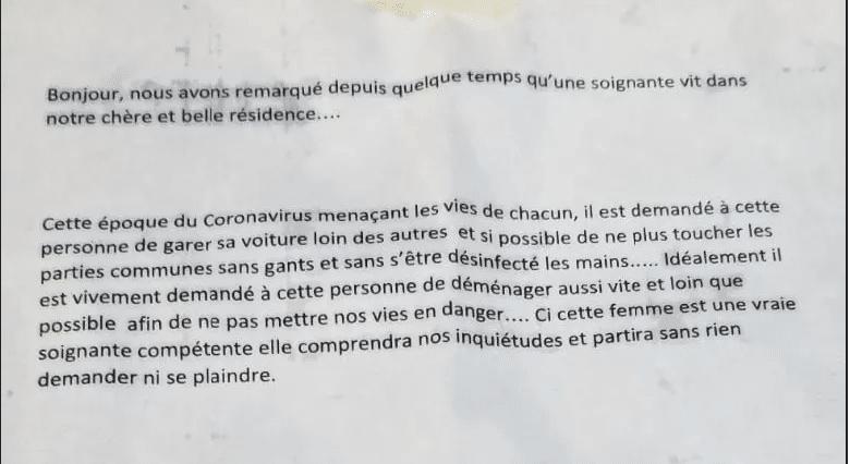 Coronavirus : une infirmière bayonnaise invitée à déménager par ses voisins