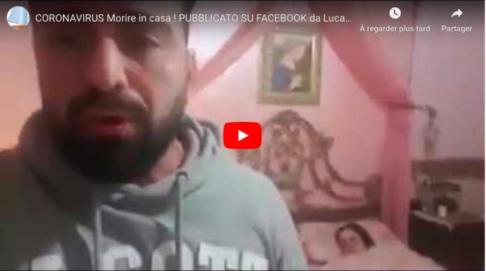 Enfermé 24h dans sa maison avec sa soeur morte du coronavirus, un Italien raconte l'horreur - VIDEO