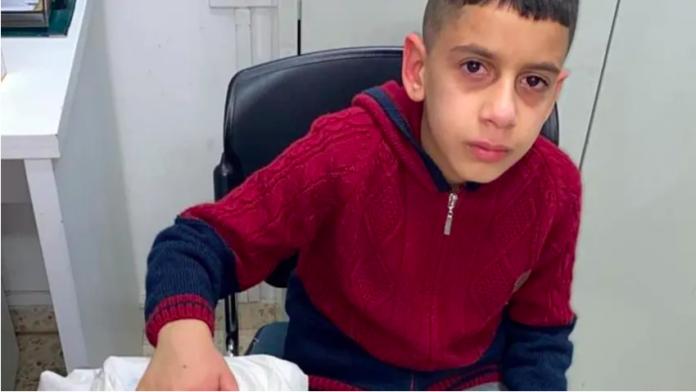 Jérusalem La police israélienne tire sur deux garçons palestiniens dans la cour d'une école VIDEO