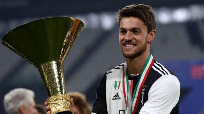 Le défenseur de la Juventus Daniele Rugani a été testé positif au coronavirus