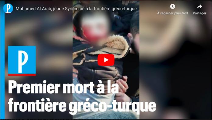Le destin tragique de Mohamed, migrant syrien de 22 ans, tué par l'armée grecque - VIDEO