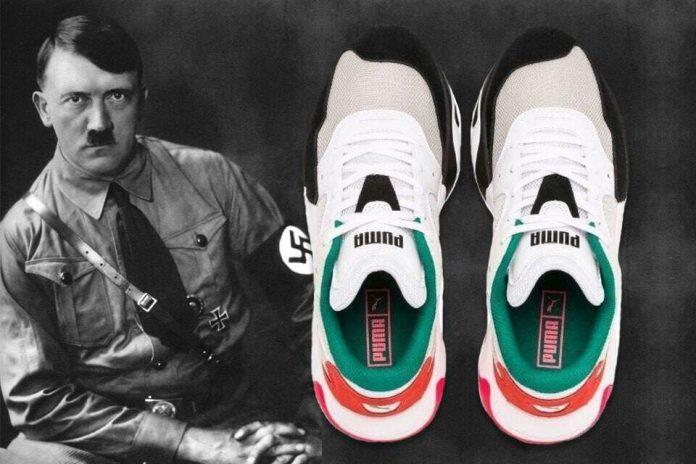 Le nouveau modèle de Puma aurait une étrange ressemblance avec Hitler selon les internautes