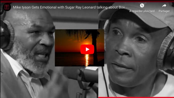 Les larmes de Mike Tyson après ses confessions - VIDEO
