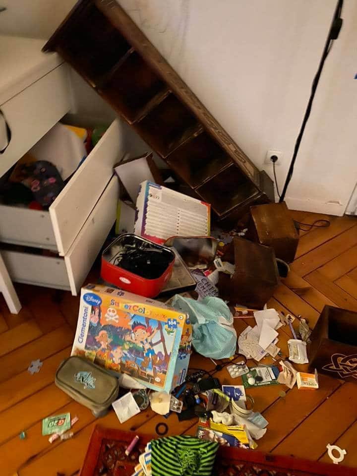 Marwan Muhammed victime d'un cambriolage montre sa maison entièrement saccagée sur Facebook 3