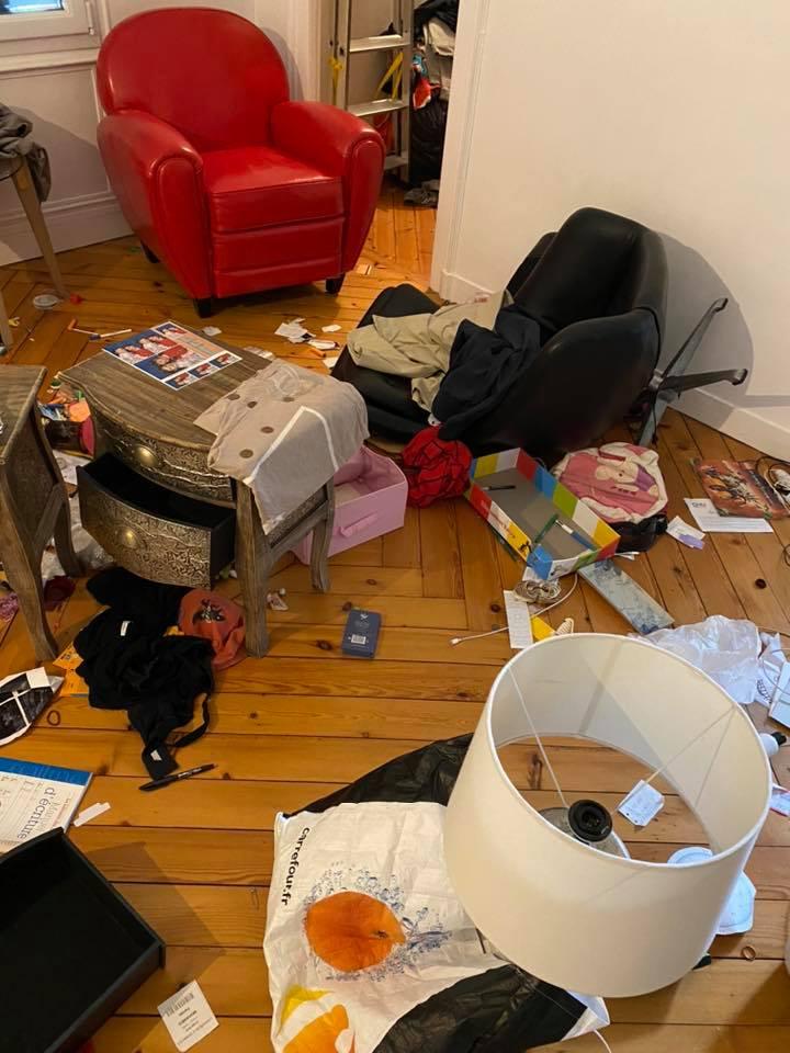 Marwan Muhammed victime d'un cambriolage montre sa maison entièrement saccagée sur Facebook 4